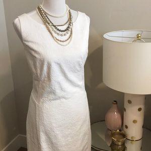 Beautiful NWT White Ann Taylor Dress!